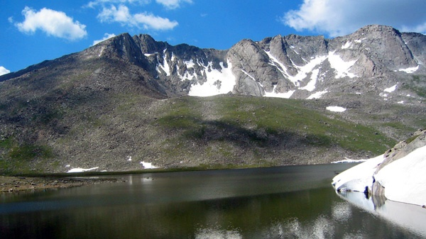 Summit Lake Mountain Park at the base of Mount Evans