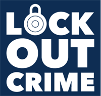 Lock Out Crime logo
