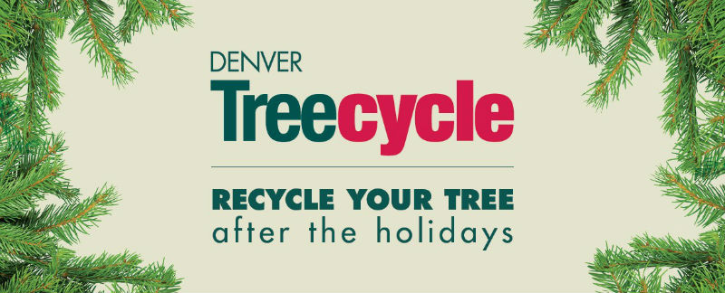 Denver Treecycle: Recycle your tree after the holidays