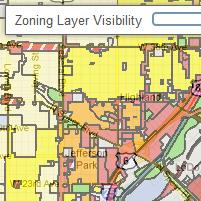 Denver Zoning Map Denver Open Data Catalog: Zoning