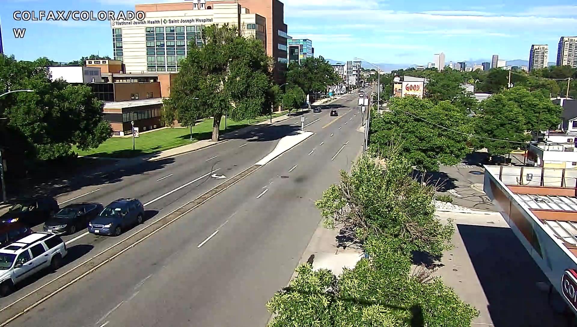 Colorado Boulevard and Colfax Avenue